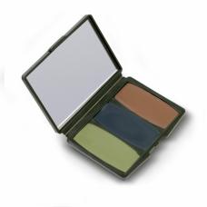 Hunters Specialties Camo-Comac 3 Colour Woodland Makeup Kit