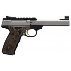 "Browning Buck Mark Plus Stainless UDX .22LR 5.5"" Barrel Semi Auto Pistol"