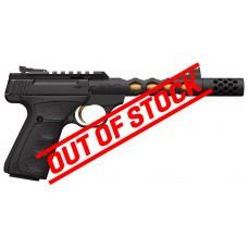 "Browning Buck Mark Plus Vision Black/Gold .22 LR 5 7/8"" Barrel Semi Auto Handgun"