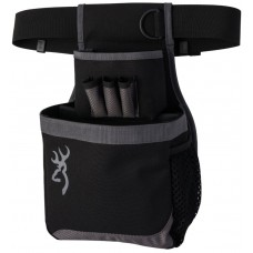 Browning Flash Shell Pouch in Black & Gray