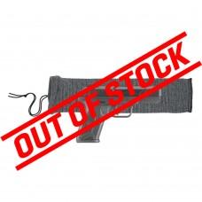 """Allen 14"""" Knit Handgun Sock - Heather Grey"""