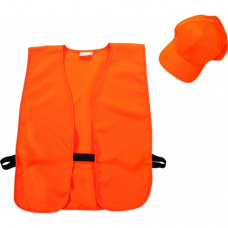 Allen Hi-Viz Hat & Vest Combo