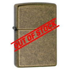 Zippo Windproof Antique Brass Lighter