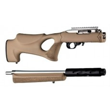 Hogue Ruger 10/22 Takedown Thumbhole Standard Barrel Flat Dark Earth Rubber OverMolded Stock