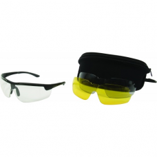 Allen Ion Ballistic Shooting Glasses with Extra Lenses