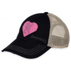Browning Heartbreaker Navy/Pink Hat
