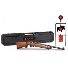 "Ruger 10/22 Carbine with Hardcase & Steel Target .22LR 18.5"" Barrel Semi Auto Rimfire Rifle"