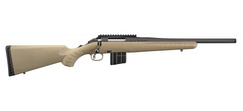 "Ruger American Ranch 5.56 NATO 16.12"" Barrel Bolt Action Rifle"