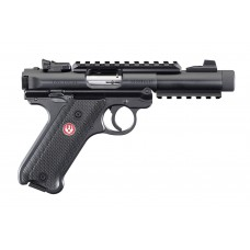 """Ruger Mark IV Tactical .22LR 4.40"""" Barrel Semi Auto Handgun"""