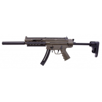"GSG 16 Standard OD Green .22LR 16.25"" Barrel Semi Auto Non-Restricted Tactical Rifle"