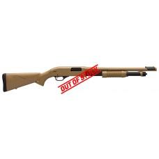 "Winchester SXP Dark Earth Defender 12 Gauge 3"" 18"" Barrel Pump Action Shotgun"