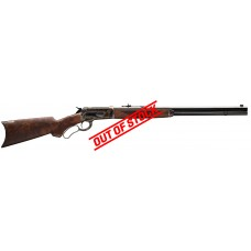 """Winchester 1886 Deluxe Case Hardened 45-90 Win 24"""" Barrel Lever Action Rifle"""