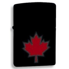 Zippo Maple Leaf Shadow Lighter