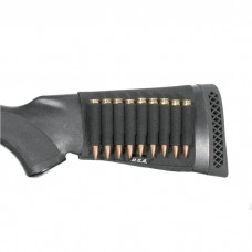Blackhawk Rifle Buttstock Shell Holder - Open - Black