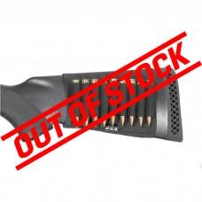 Blackhawk Rifle Buttstock Shell Holder - Open - Black