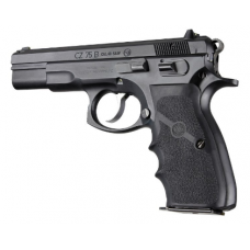 Hogue CZ-75 Rubber Wraparound Grip - With Finger Grooves