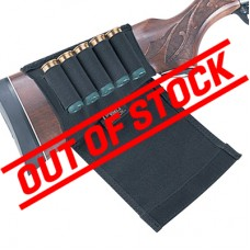 Uncle Mike's 5 Loop Flap Style Buttstock Shell Holder for Shotguns