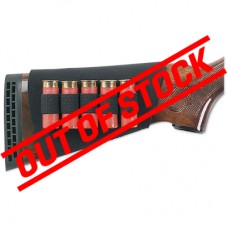 Uncle Mike's 5 Loop Neoprene Buttstock Shell Holder for Shotguns