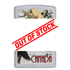 Zippo Windproof Canada Moose Lighter