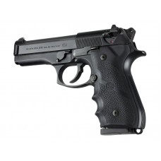 Hogue Beretta 92/96 Series Grip with Finger Grooves Black