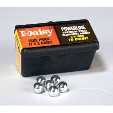 """Daisy Outdoor Products PowerLine 3/8"""" Steel Slingshot Ammo"""
