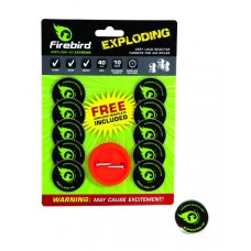 Firebird Airflash 40mm Extreme Reactive Targets for Air Rifles
