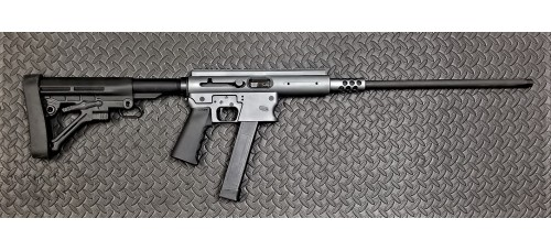 "TNW ASR Aero Grey 9mm 18.6"" Barrel Semi Auto Rifle"