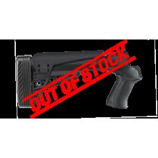 ATI T3 Adjustable TactLite Shotgun Stock w/X2 Recoil Reducing Grip & Butt-Pad - Black
