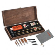 Hoppe's Deluxe Cleaning Kit with Brass Rod