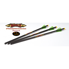 Excalibur Diablo Carbon Arrows w/Lumenok - 3 Pack