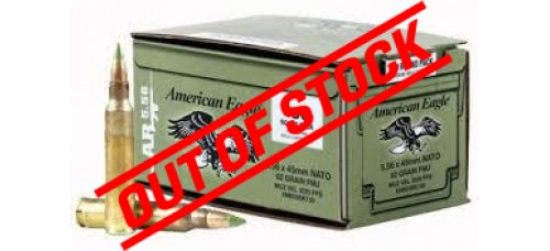 American Eagle 5.56 NATO 62gr FMJ-BT 150 Rd Loose Pack Ammo