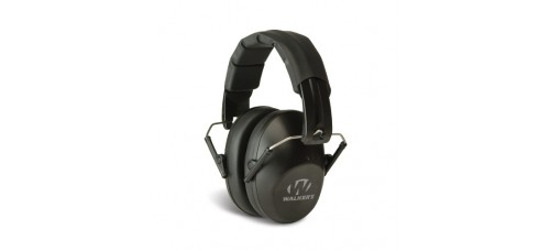 Walker's Pro Low Profile Passive Folding Black Ear Muffs