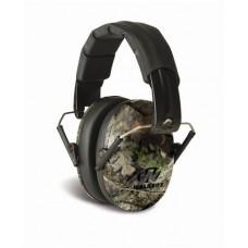 Walker's Pro Low Profile Passive Mossy Oak Folding Ear Muff