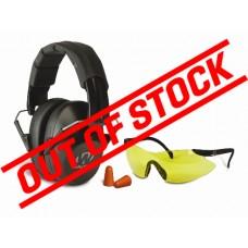 Walker's Pro Safety Passive Ear Muff Combo Kit