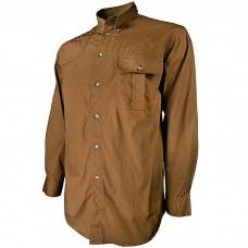 Beretta Men's TM Shooting Tan Long Sleeve Shirt in Large