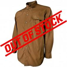 Beretta Men's TM Shooting Tan Long Sleeve Shirt in XX Large