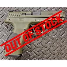 """Girsan MC28 V2 SA 9mm 4.25"""" Barrel Military Green Semi Auto Handgun"""