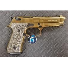 "Girsan Regard MC Gold 9mm 4.9"" Barrel Blued Semi Auto Handgun"