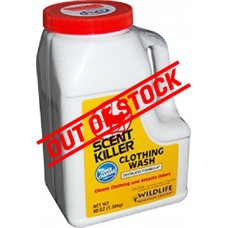 Wildlife Research Center Scent Killer Clothing Wash 3lbs (1.36kg)