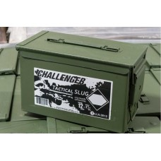 "Challenger Tactical Slugs 12ga 2 3/4"" 175 Round Ammo Can"